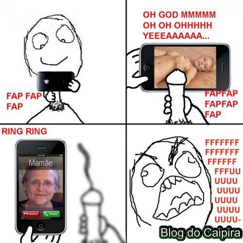 gostosa no iphone