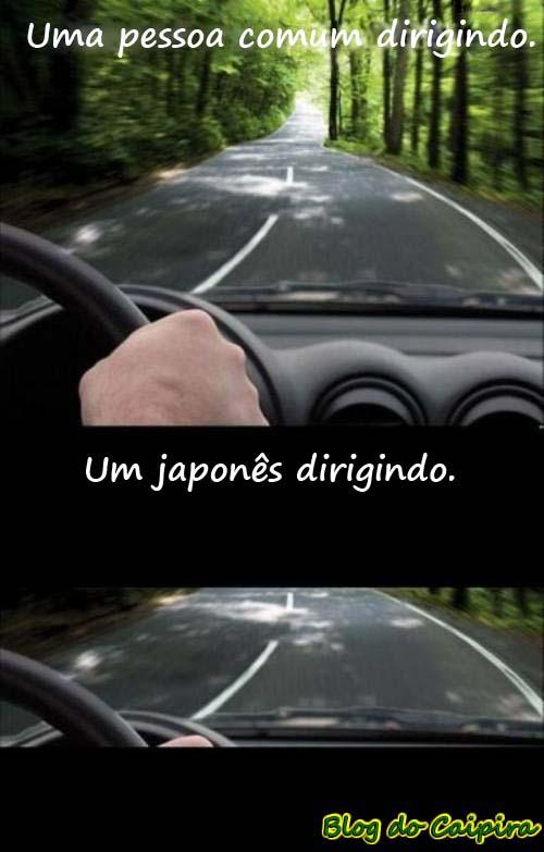 visão do motorista