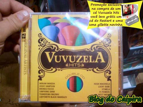 cd vuvuzelas hits