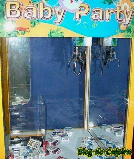 máquina de pegar brinquedos