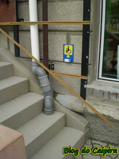 rampa para cadeira de rodas