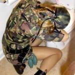 vomitando de bebada