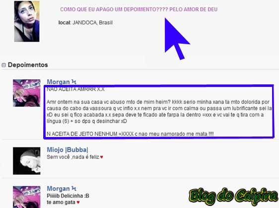 orkut depoimento