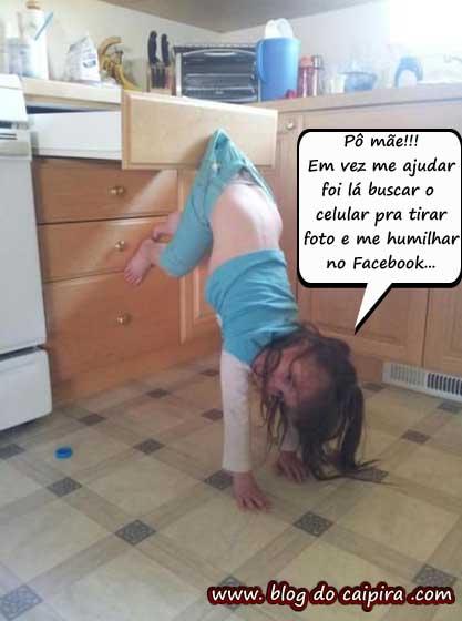foto de criança no facebook
