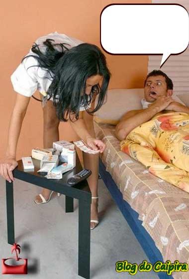 enfermeira boa e preocupada com o paciente
