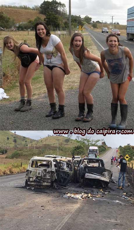acidente engavetamento carros