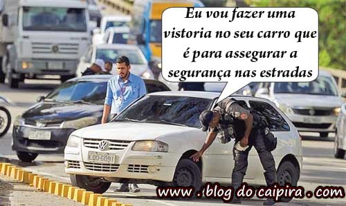 vistoria no carro